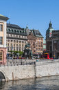 View of Gamla Stan (the Old Town) Stock Photos