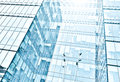 View of glass high rise building Stock Photography
