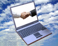 View of the global deal!! Royalty Free Stock Images