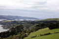 The view going up to larnach castle in dunedin new zeal zealand Royalty Free Stock Images