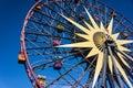 Mickey Mouse Fun Wheel Gondola Ride Royalty Free Stock Photo