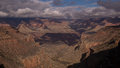 View of the grand canyon from canyon trail national park in arizona bright angel Stock Images