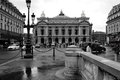 View of the Grand Opera in Paris. 12 August, 2006. Royalty Free Stock Photo