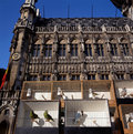 A view of the Grand Place in Brussels, Belgium. Stock Photography