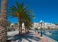 View of the Greek town of Sitia. Royalty Free Stock Photography