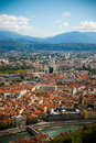 View of Grenoble Royalty Free Stock Photo