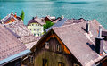 View of Hallstatt Royalty Free Stock Photos