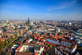 View on Hamburg Royalty Free Stock Photography