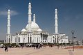 View of hazrat sultan mosque the square near the palace independence where many tourists and Stock Photo