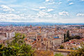 View from height to Granada Royalty Free Stock Photo