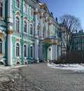 The view of Hermitage Museum Stock Photography
