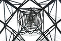 Isolated Pylon Abstract Royalty Free Stock Photo