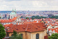 View of the historical districts of Prague Royalty Free Stock Photos