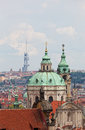 View of the historical districts of Prague Royalty Free Stock Photography