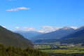 View from hohe munde mountain in austria Royalty Free Stock Images