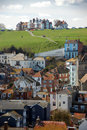 View of houses in Hastings Royalty Free Stock Images