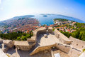 View of Hvar Royalty Free Stock Photos
