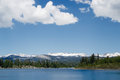 View of Ice House Reservoir Royalty Free Stock Photo