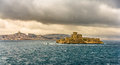 View of the If castle in the Mediterranean sea Royalty Free Stock Photo