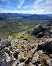 The view from Ill Crag