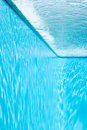 View from inside of swimming pool. Royalty Free Stock Image