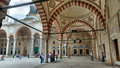 View of the interior walls of Selimiye Mosque, Edirne Royalty Free Stock Photo