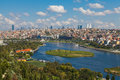 View of Istanbul and the Golden Horn Royalty Free Stock Photo