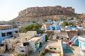 View of Jodhpur, the blue city. Stock Photos