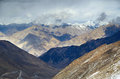 View on a Karakorum Himalayas range Royalty Free Stock Images