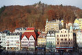 View of Karlovy Vary. Czech Republic Stock Image