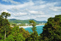 View of Karon beach Royalty Free Stock Images