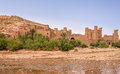 View at the Kasbah Ait Benhaddou - Morocco