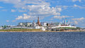 View of the Kazan Kremlin, Republic of Tatarstan, Russia Royalty Free Stock Photo