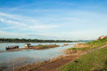 View of Khong river Stock Photography