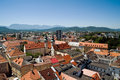 View of Klagenfurt Royalty Free Stock Photography