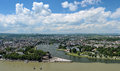 View of Koblenz, Germany Royalty Free Stock Photos