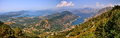 View of Kotor Bay in Monte Negro Royalty Free Stock Photo