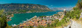 View of kotor bay on sunny day, Kotor Royalty Free Stock Photo