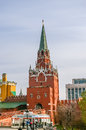 View in kremlin castle in moscow russia Royalty Free Stock Photos