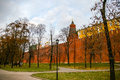 View in kremlin castle in moscow russia Stock Images