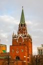 View in kremlin castle in moscow russia Royalty Free Stock Photography