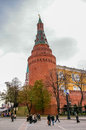 View in kremlin castle in moscow russia Stock Photo