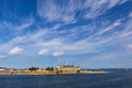 View of Kronborg castle in Denmark Royalty Free Stock Photo