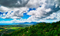 The view on Kuranda Skyrail Stock Image