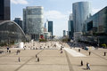 View of La Defense, Paris Royalty Free Stock Photo