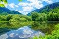 View of Lake Biograd Royalty Free Stock Photo