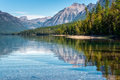 View of Lake McDonald Royalty Free Stock Photo