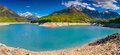 View of lake sautet alps france Stock Photography