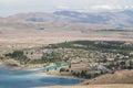 View of Lake Tekapo and town