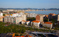 View of Laredo center. Cantabria Royalty Free Stock Photo